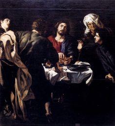 Το Δείπνο της Εμμαούς (1610)