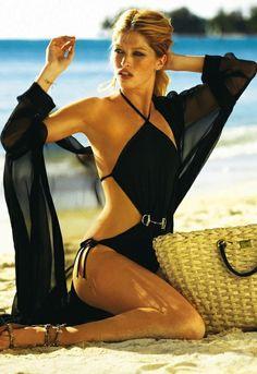 Gucci black bathing suit ... bikini bathing suit one piece swimwear swimsuit bikini mesh beach summer black