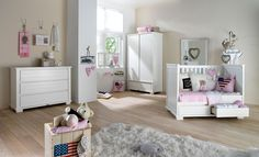 Contemporary Nursery Furniture We have of nursery furniture for your including nursery furniture and Visit and shop today. For more info 327463 White Nursery Furniture, Nursery Furniture Sets, Kids Furniture, Home Staging, Girls Bedroom, Bedroom Decor, Organizar Closet, Ideas Para Organizar, Home Organisation
