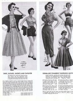 1950's fashion photos | Co. Inspo: 1950's Everyday Fashion