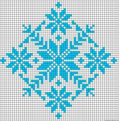 Discover thousands of images about Winter design perler bead pattern Bead Loom Patterns, Perler Patterns, Beading Patterns, Embroidery Patterns, Crochet Patterns, Cross Stitch Charts, Cross Stitch Designs, Cross Stitching, Cross Stitch Embroidery