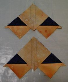 Confessions of a Serial Quilter: Perfect Flying Geese - A Tutorial. Best tutorial on making 4 flying geese at once that I have seen.