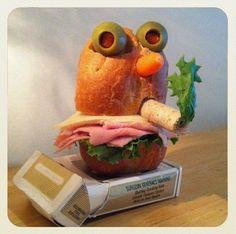 Adorable Sandwich Monsters
