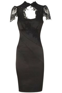 Figure-flattering dresses with lacework(2colors)_Dresses(d)_DESIGNER_Voguec Shop