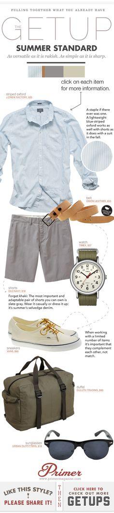 Summer Standard. As versatile as it is rakish. As simple as it is sharp.