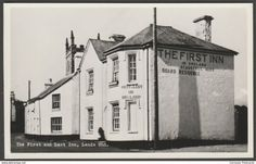 The First and Last Inn, Land's End, Sennen, Cornwall, c.1956 - RP Postcard