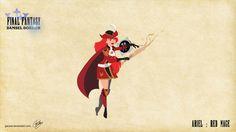 Disney Princesses as Final Fantasy Characters — GeekTyrant