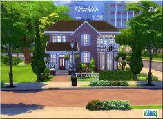 Klitzeklein house by melaschroeder at All 4 Sims via Sims 4 Updates