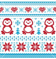 Weihnachten und Winter Strickmuster card scandynavian Pullover Stil Lizenzfreie Bilder Best Picture For Knitting Pattern blankets For Your Taste You are looking for something, and it is going to tell Winter Knitting Patterns, Knitting Charts, Knitting Stitches, Knit Patterns, Free Knitting, Cross Stitch Patterns, Free Crochet, Crochet Ideas, Sock Knitting