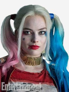 Suicide Squad: Harley Quinn (Margot Robbie) photo via Entertainment Weekly Margot Elise Robbie, Margot Robbie Harley Quinn, Margo Robbie, Harley Quinn Et Le Joker, Harley Quinn Cosplay, Maquillaje Harley Quinn, Arley Queen, Harle Quinn, Character Portraits