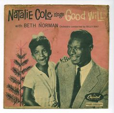 Natalie Cole and Nat King Cole    Capitol 3246  1955