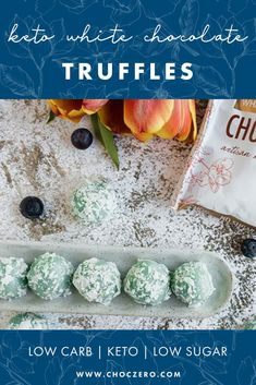 This no bake, keto recipe is brought to us by the talented Annie from Keto Focus, and made with just a few simple ingredients. Quick and easy to make, they're sure to be a hit all Summer long. Summer dessert recipes. Keto truffle recipe. ChocZero creates healthier treats with quality ingredients. Enjoy keto-friendly, sugar-free chocolate and syrup that tastes incredible. Enjoy our low-carb, keto, gluten-free, and sugar-free recipes that use our delicious keto chocolate and syrups. Sugar Free Desserts, Sugar Free Recipes, Keto Recipes, Easy Summer Desserts, Summer Dessert Recipes, Blueberry Shortcake, Quick Keto Dessert, Strawberry Cheesecake Bites, Blueberry Desserts