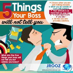 There is no telling how employers determine who among their employees are assets and liabilities. However, there are things that you should keep in mind to be an asset to the company. Read about the things that your boss will not tell you but wishes you knew. or visit this blog for more details: http://jroozinternational.blogspot.com/2017/02/five-things-your-boss-will-not-tell-you.html #JRoozIntl #IELTSTestOnline #IELTSOnlinePreparation #IELTSOnlineReview