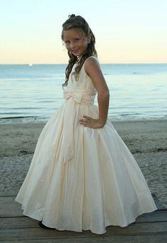 Flower Girl Dress 385 by Sweetie Pie