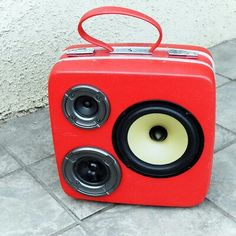 So glad the boombox is making a comeback! Such great idea.