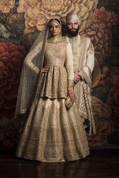By designer Sabyasachi Mukherjee. #sabyasachi #Couture2016 #Firdaus