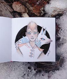 Ulla Thynell illustration / sketchbook 2018