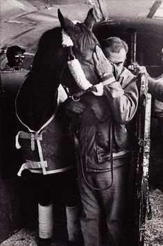 Chane — One of the last know photos of famed Thoroughbred,...