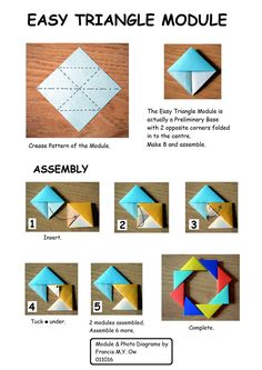 Want to know more about Origami Ideas Diy Origami, Gato Origami, Origami Wreath, Origami And Quilling, Paper Crafts Origami, Origami Tutorial, Kirigami, Origami Windmill, Origami Christmas Ornament
