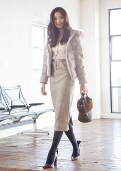 Street Look, Japanese Fashion, Kawaii, Autumn, Chic, Lady, Womens Fashion, Winter, Style
