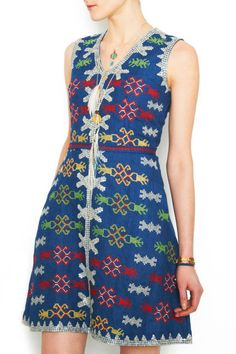 The Dress-Lenora Cabili's creation--embroidered by the T'Boli women of Lake Sebu.