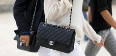 Win a vintage Chanel East West Flap Bag with silver CC lock from Designer-Vintage in just one click! | Fashiolista.com
