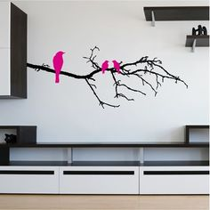 Branch & Birds Wall Art from Next Wall Stickers