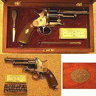 History of the Civil War Dr. LeMat makes a gun