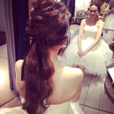 ウエディングヘア