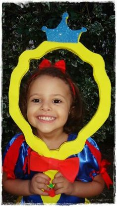 Espelho Branca  de Neve, snow White, festa infantil Bday Girl, 1st Birthday Girls, Birthday Parties, Disney Princess Party, Princess Birthday, Snow White Birthday, Bird Party, Holidays And Events, Party Themes