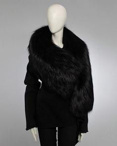 rick owens fur. wow