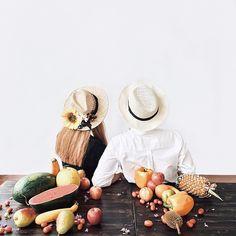 TuPa & CiTu tận hưởng mùa hè tràn họng rồi ai biểu ra đường không make up chi để chụp hình quay mặt vô tường như bị phạt đáng đời lêu lêu 🍍🍈🍐🍌 | #summer #tropical #couple #couple #stylist #yeunhaugan4namroi