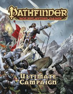Pathfinder Roleplaying Game: Ultimate Campaign (OGL) | Book cover and interior art for Pathfinder Roleplaying Game - PFRPG, 3rd Edition, 3E, 3.x, 3.0, 3.5, 3.75, Role Playing Game, RPG, Open Game License, OGL, Paizo Inc. | Create your own roleplaying game books w/ RPG Bard: www.rpgbard.com | Not Trusty Sword art: click artwork for source