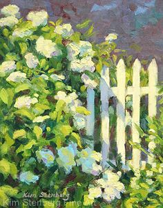 "Reserved, Hydrangea Painting, Original Oil Floral Painting, 10 x ""Hydrangea Garden"" by Kim Stenberg, RIch Impressionistic Art Hydrangea Bloom, Hydrangea Garden, Hydrangeas, Paintings I Love, Original Paintings, Canvas Paintings, Hydrangea Painting, Painting Flowers, Painting Art"