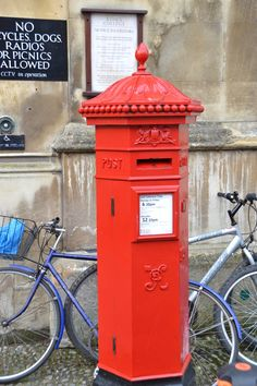 Old English Victorian post box