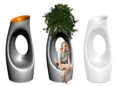 Green Form Relax Planter If It S Hip It S Here