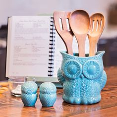 Kitchen accessories this cute are a wise decision.