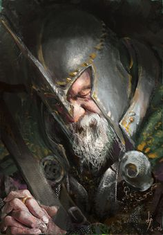 Discover The Art of Fang Xinyu, a Chinese Concept Artist and Illustrator based in suzhou, China. Fantasy Warrior, Fantasy Rpg, Medieval Fantasy, Character Portraits, Character Art, Character Design, Fantasy Concept Art, Fantasy Artwork, Fantasy Portraits