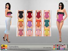 Lumysims Mireya Bodysuit Recolor at Elfdor Sims • Sims 4 Updates