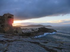 Calvi - After a storm