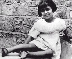 Dalida in her childhood at cairo