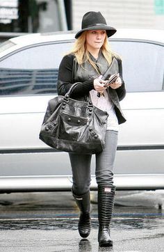 Hilary Duff - Love this outfit.