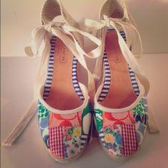 Coach shoes Beautiful Coach espadrilles Coach Shoes