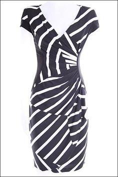 Black and White Dress by Joseph Ribkoff