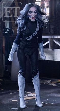 First Look at Italia Ricci as Silver Banshee in Supergirl.