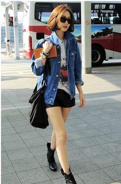 #Go Jun Hee #Airport Fashion #Korean Style