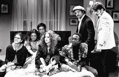 Something for the weekend: the original cast of Saturday Night Live.    Saturday Night Live's complete first season is out this month on DVD and you'd reasonably expect it to be a big nugget of TV gold. Broadcast in 1975, it includes sketches from nascent talents Chevy Chase, John Belushi and Dan Ackroyd, as well as guest appearances from stars like Paul Simon and Elliot Gould.