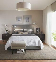 Bedroom - Room & Board  cool bed