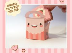 DIY Valentines Cake + Cake Box by milkbun on Packaging of the World - Creative Package Design Gallery