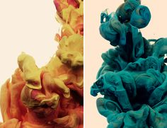 I still can't get over how Alberto Seveso can make something as simple as ink in water look so captivating. Each photo, in his latest series, captures duos of vibrant pigments, entwining in the most breathtaking and sensual way.